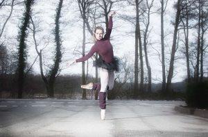 Janina Ballett on the Street